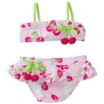 【KateMack】Cherry Gingham Bikini 子ども用水着 90.100サイズ
